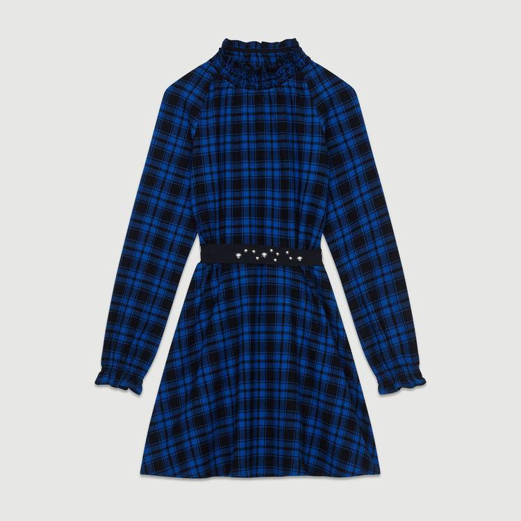1f37788a548 Sélection de Robes soldées à -50% - Ex   robe courte à carreaux