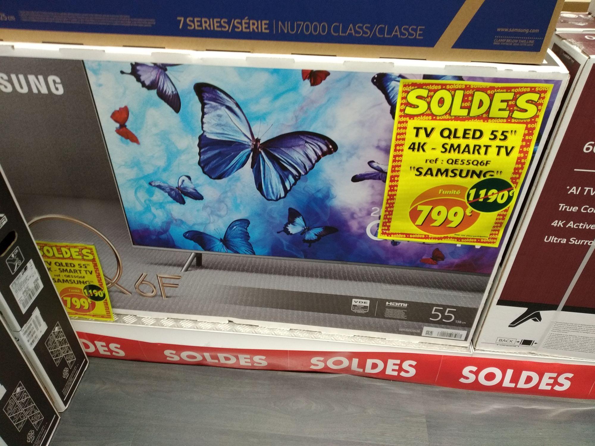 "TV 55"" Samsung QE55Q6F - QLED, 4K UHD, Smart TV - Bonneuil-sur-Marne (94)"