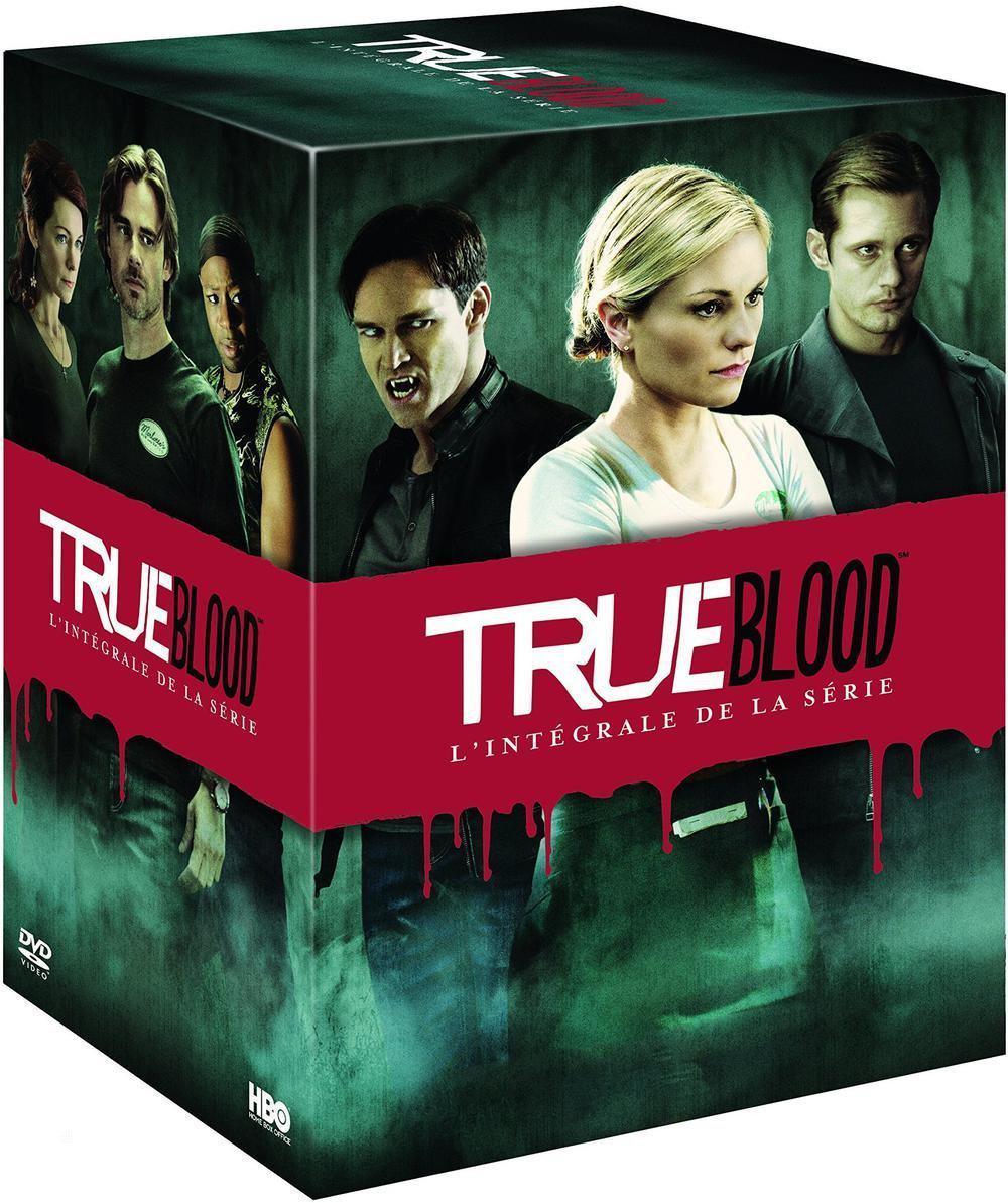 Coffre DVD: True Blood - L'intégrale de la série - Saisons 1 à 7