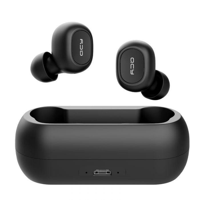 Écouteurs sans-fil Bluetooth QCY T1C - Noir