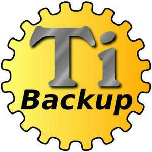 Application Titanium Backup Root PRO sur Android
