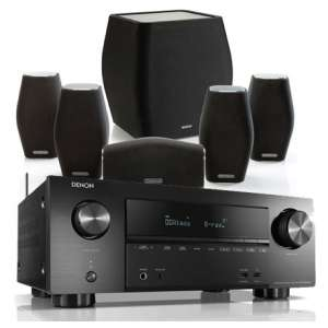 Amplificateur Home Cinéma 7.2 Denon AVR-X2500H + Kit Enceintes 5.1 Monitor Audio Mass (exceptional-av.co.uk)