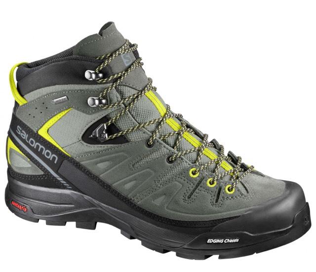 Chaussures de Grande Randonnée SALOMON  X Alp Mid Leather GTX