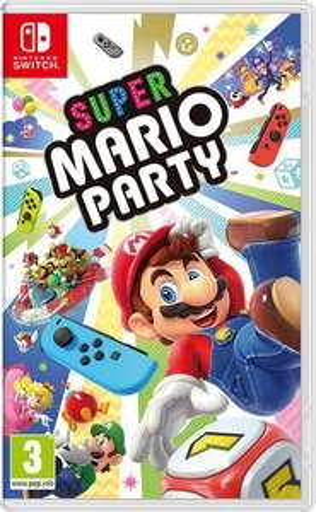 Super Mario Party sur Nintendo Switch