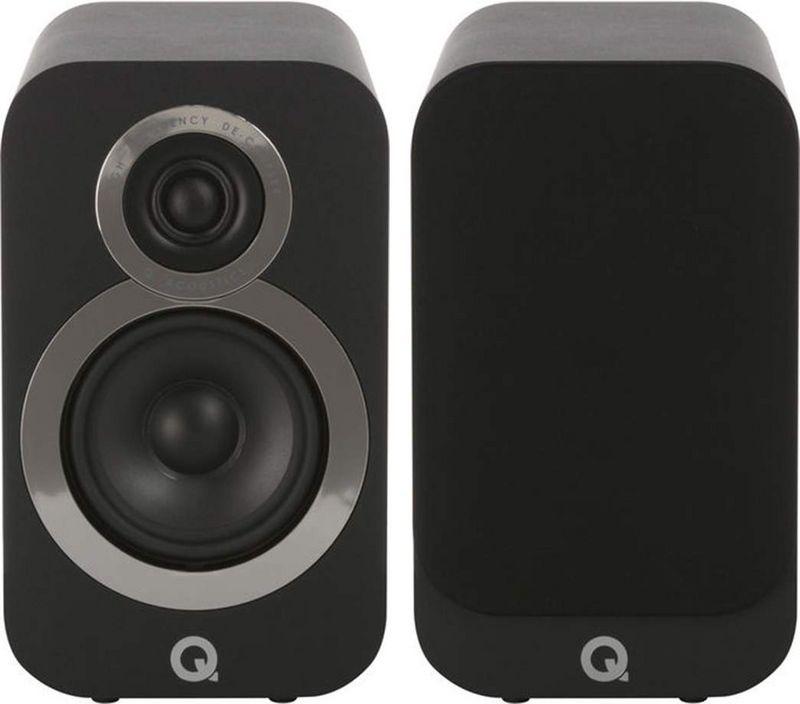 Lot de 2 enceintes Q acoustics 3020i - Noir