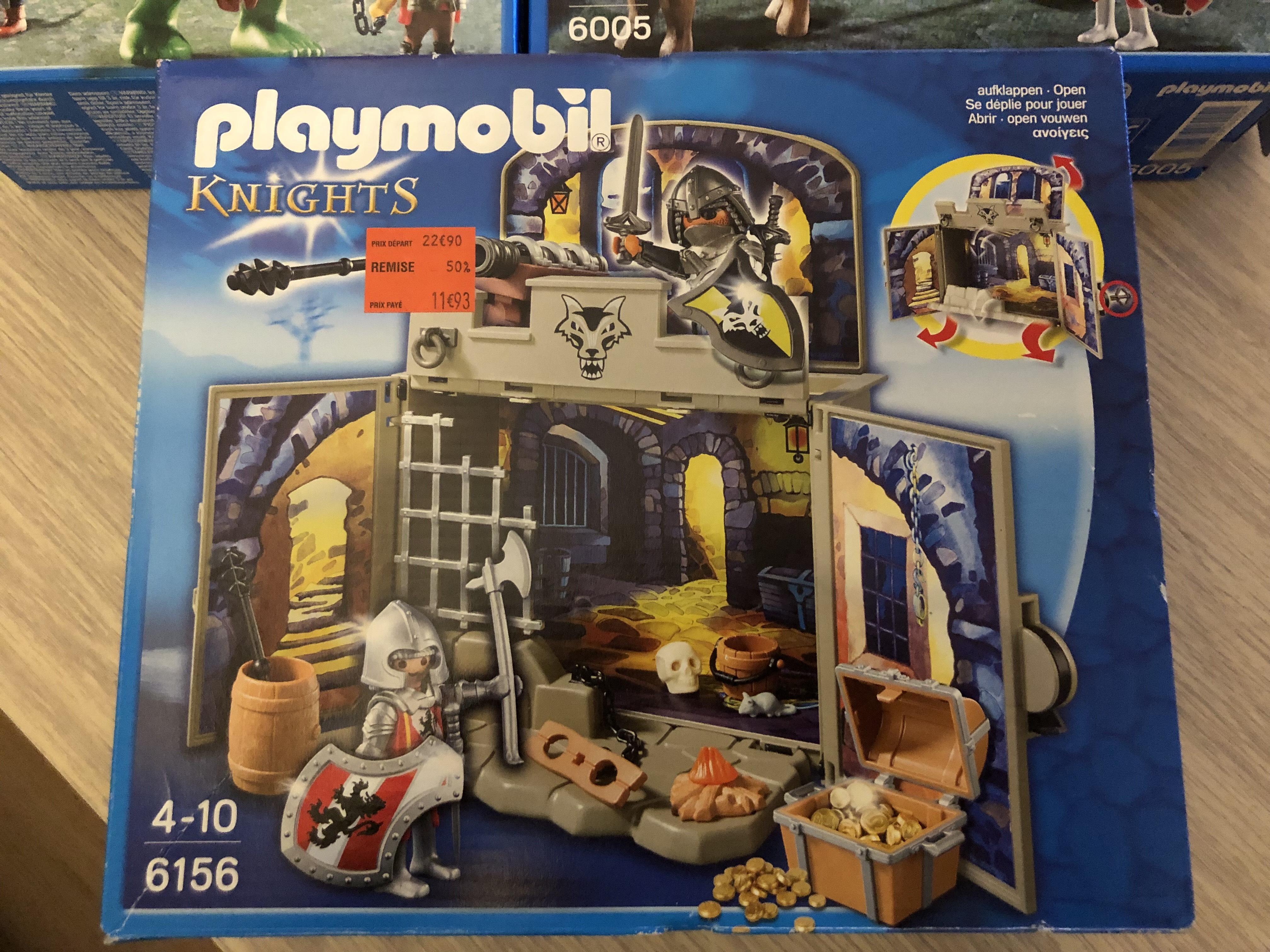 Jeu de construction Playmobil Knights - Le Mans (72)