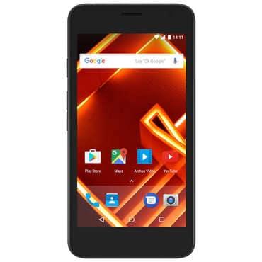 """Smartphone 4.5"""" Archos Access Dual SIM - RAM 1Go, 8Go + Abonnement Qobuz - 3 Mois (via ODR 20€)"""