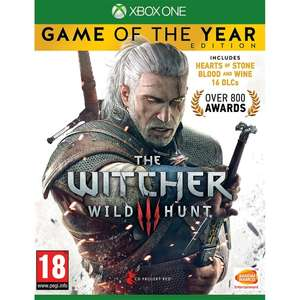 Jeu The Witcher 3 Wild Hunt : Game Of The Year (GOTY) sur Xbox One