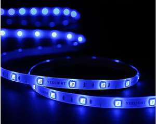 Ruban LED connecté Yeelight YLDD04YL v2 (2M) + 2 rallonges (1M) avec prise EU