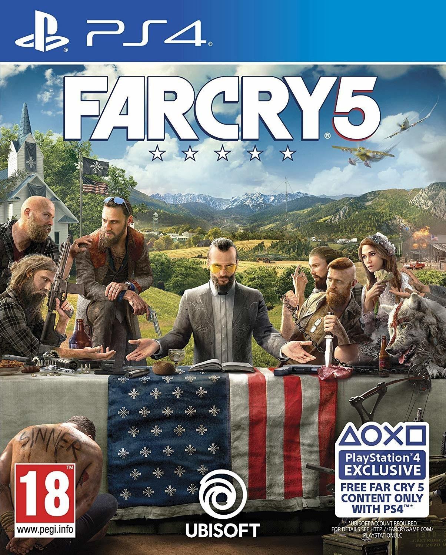 Far Cry 5 (version boite) sur PS4 et Xbox One