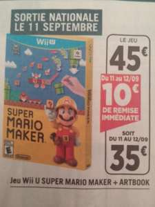 Jeu Wii U Super Mario Maker + Artbook