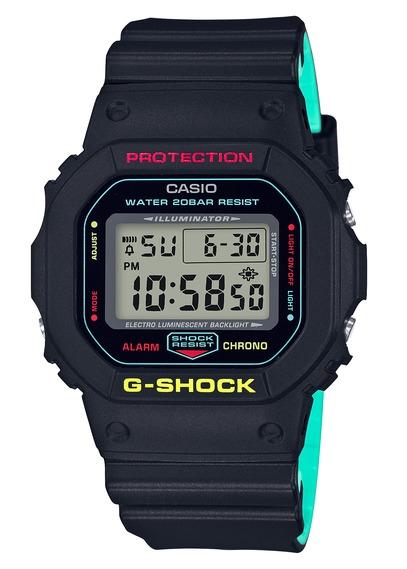 Sélection de Montres Casio G-Shock & Vintage à -50%. Ex :  Casio G-Shock DW-5600CMB-1ER - noir