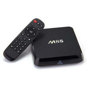 Box Android TV M8S Amlogic S812, Kodi, 4k, 2 Go ram