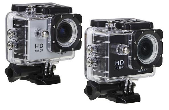 Caméra embarquée Sport HD + Accessoires - 7 coloris au choix