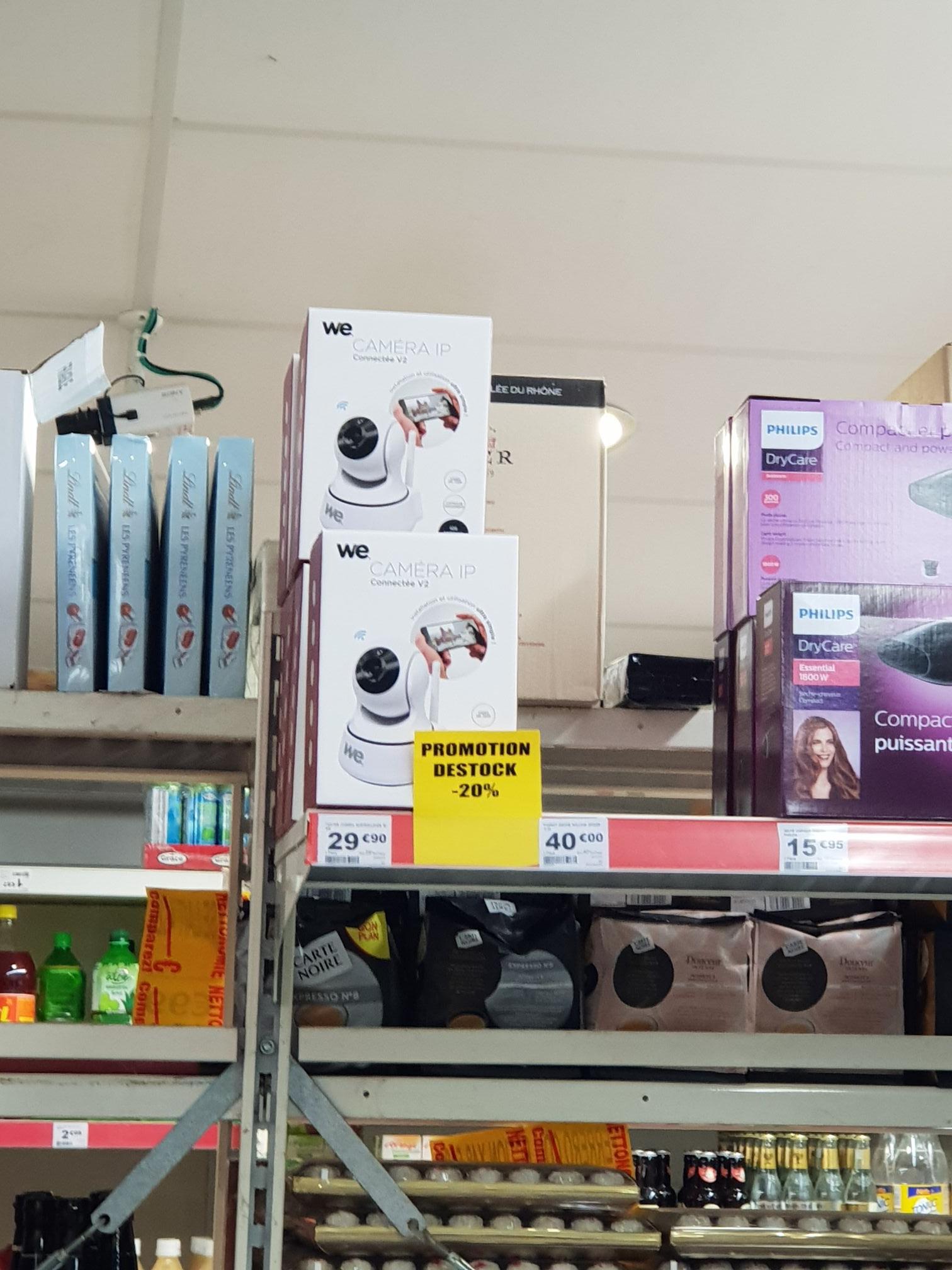 Caméra de surveillance sur IP sans fil motorisé WE Connect - Dinard (35)