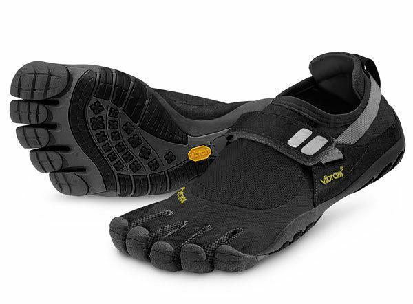 Sélection de chaussures Fivefingers Vibram - Ex : Chaussures Trek-Sport Vibram TC-1 - Noir, Anthracite