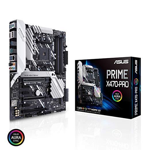 Carte Mère ATX Asus Prime X470-PRO - Socket AM4