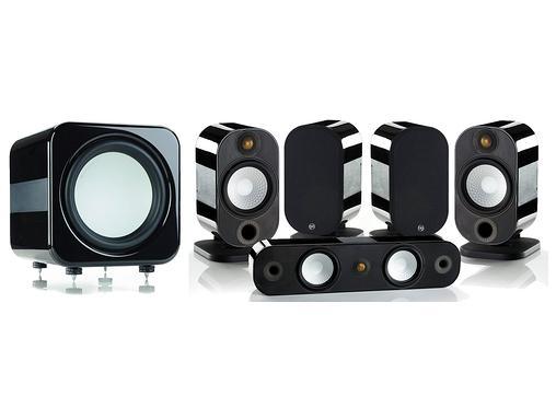 Pack d'Enceintes Apex 5.1 Noir ou blanc + Ampli Denon AVR-X3100W