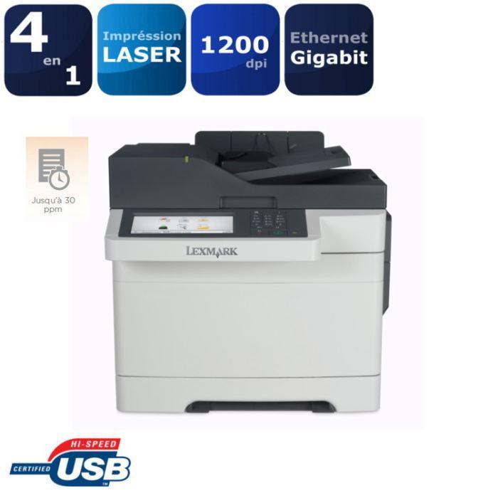 Imprimante laser multifonction couleur Lexmark CX510DE