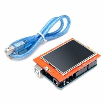 Arduino Uno ATmega328P  + Ecran tactile
