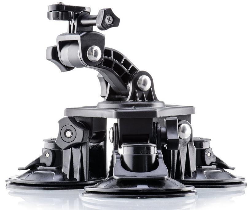 Fixation 3 ventouses pour caméra de sport PNJ Cam - AEE Magicam