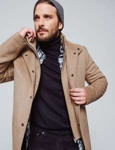 Selection d'article en Promotion - Ex : Manteau long - 100% laine