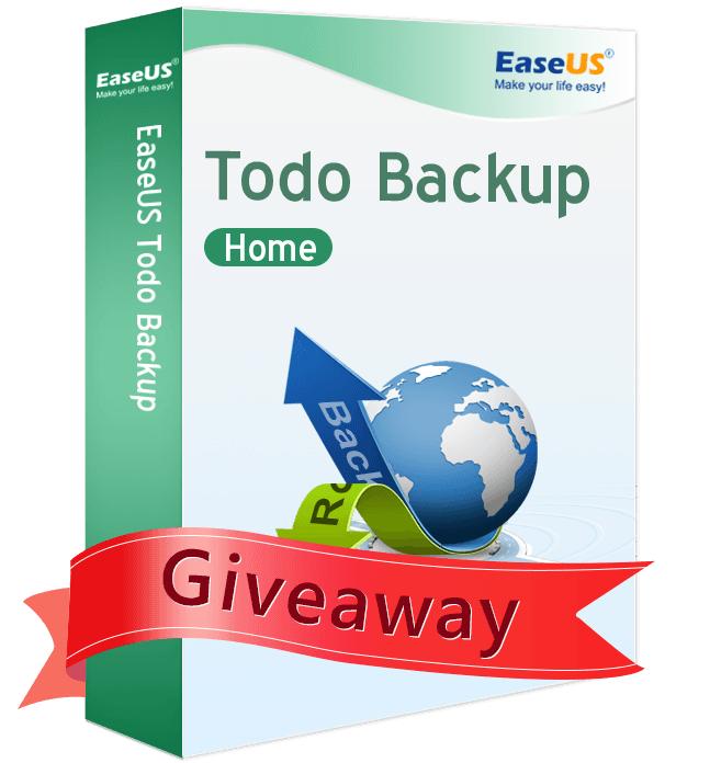 Logiciel EaseUS Todo Backup Home 10 gratuit sur PC (Dématérialisé)