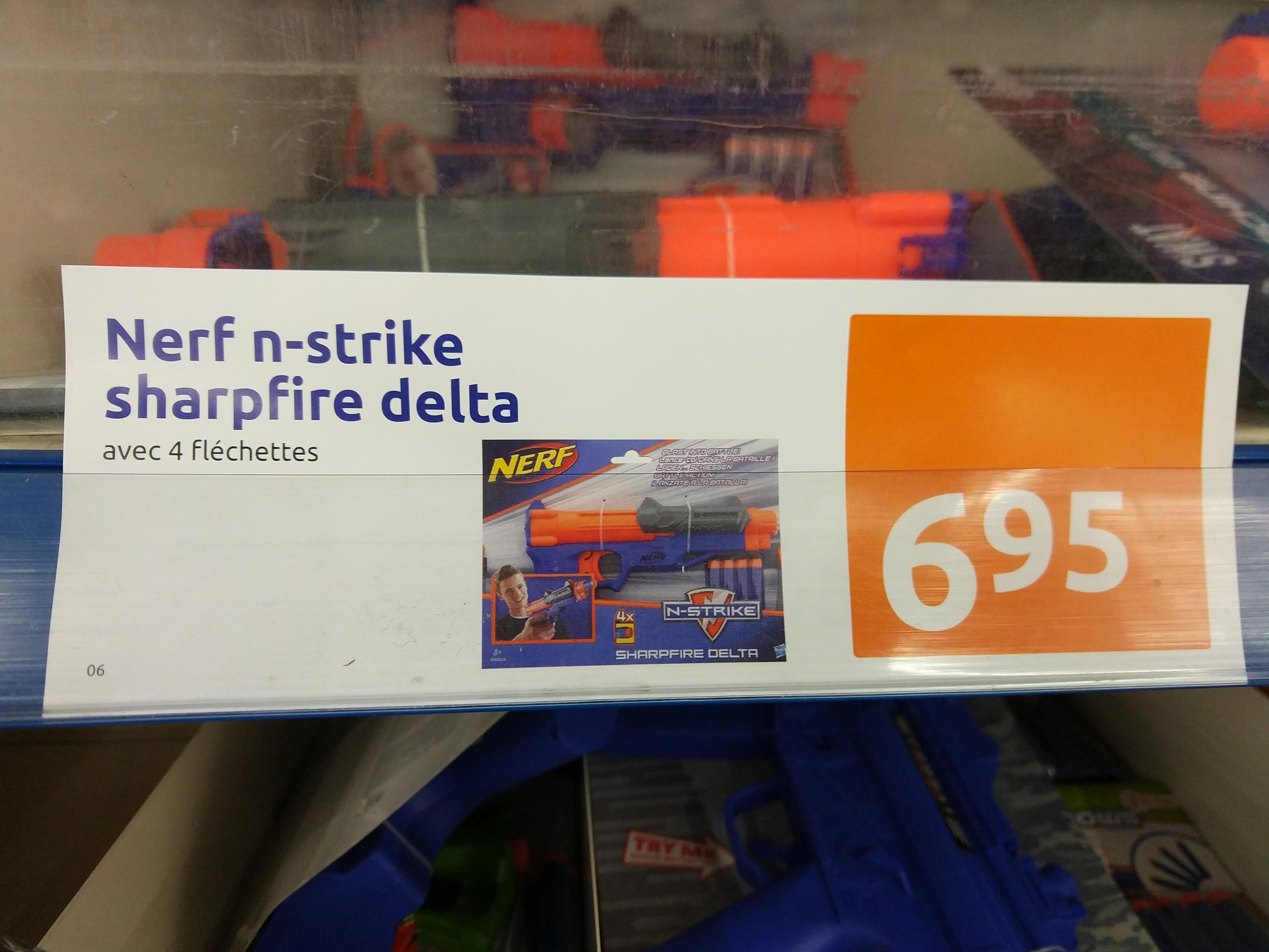 Pistolet à fléchettes Nerf N-Strike Sharpfire Delta - Saint-Bonnet-de-Mure (69)