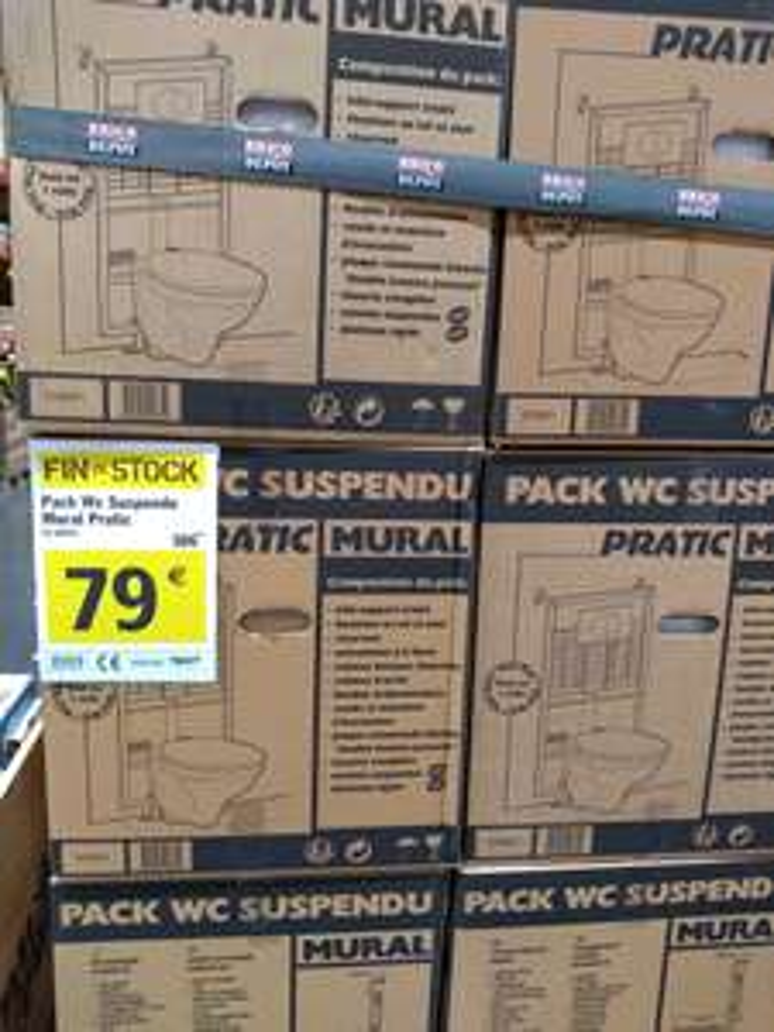 Pack WC Suspendu Pratic Mural - Pavie (32)