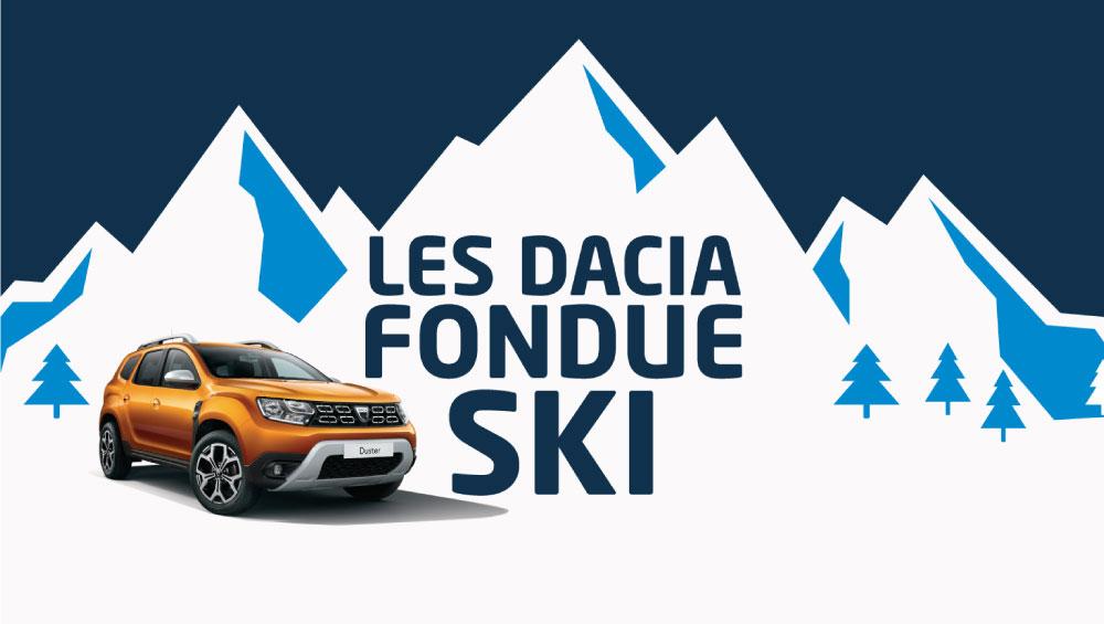 Week-end Dacia Fondue Ski: Animations Gratuites (patinoire, luge gonflable...) - Domaine du Château Béghin à Thumeries (59)