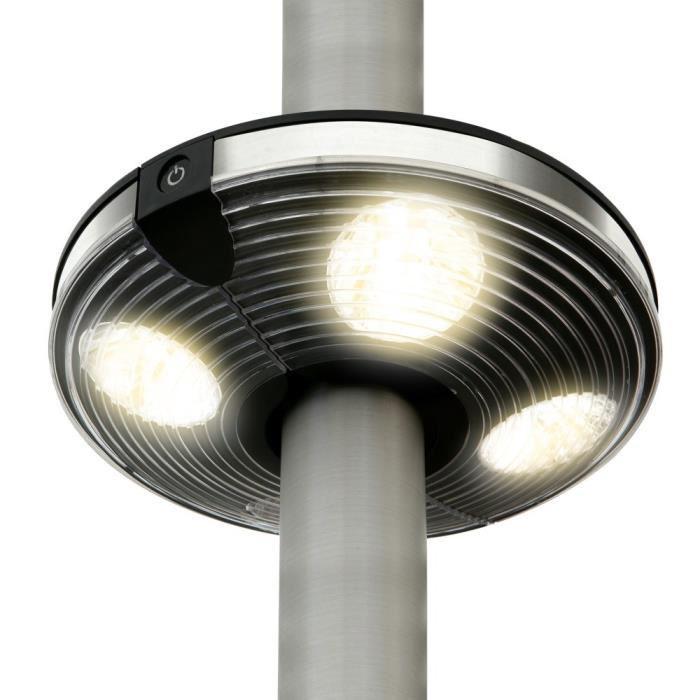 Lampe pour parasol à LED Atlanta