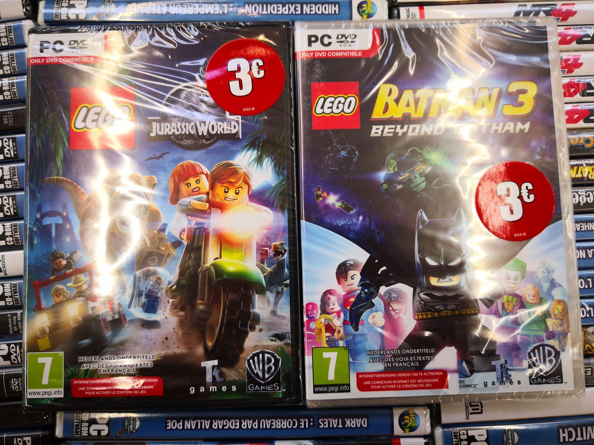 Lego Jurassic World ou Lego Batman 3 sur PC - Meylan (38)