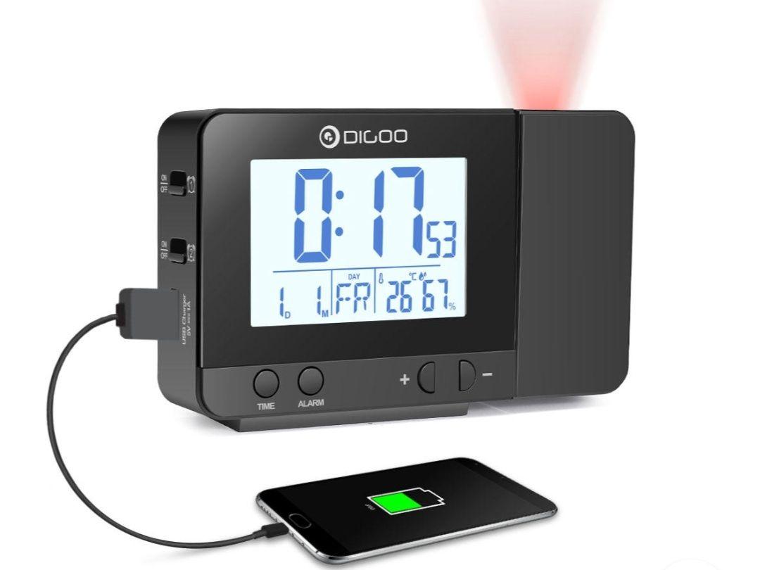 Réveil sans-fil Digoo DG-C10 - Rechargement téléphone