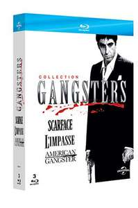Coffret 3 Blu-rays Collection Gangsters