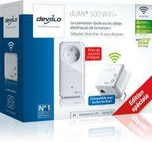 Pack 2 adaptateurs CPL Devolo dLAN 500 Wi-Fi+