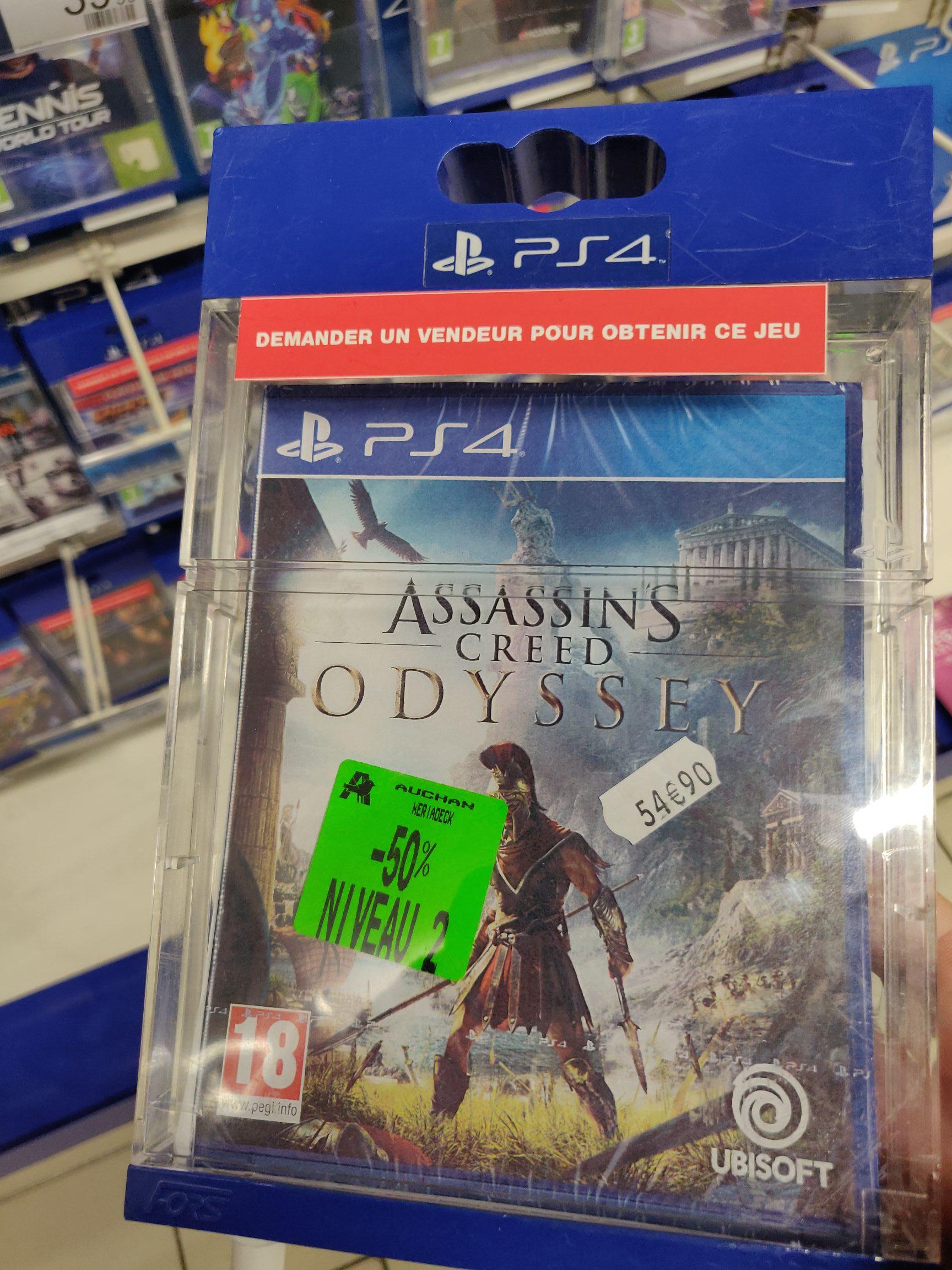 Jeu Assassin Creed Odyssey sur PS4 - Bordeaux (33)