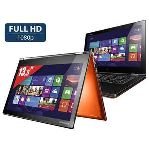 "MAJ ~ PC portable 13.3"" Lenovo Yoga 2 Tactile (Full HD - i7-4510U - SSD 256 Go - Ram 4 Go) Orange"