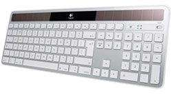 Clavier sans fil Logitech Wireless Solar Keyboard K750 pour Mac