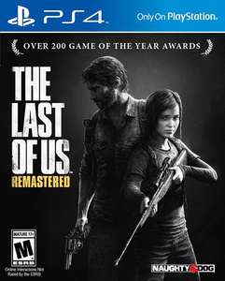 The Last Of Us remastered sur PS4 (version dématérialisé US)