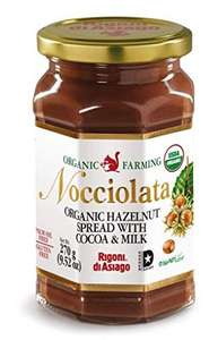 Pot de pâte à tartiner bio Nocciolata - 270 g