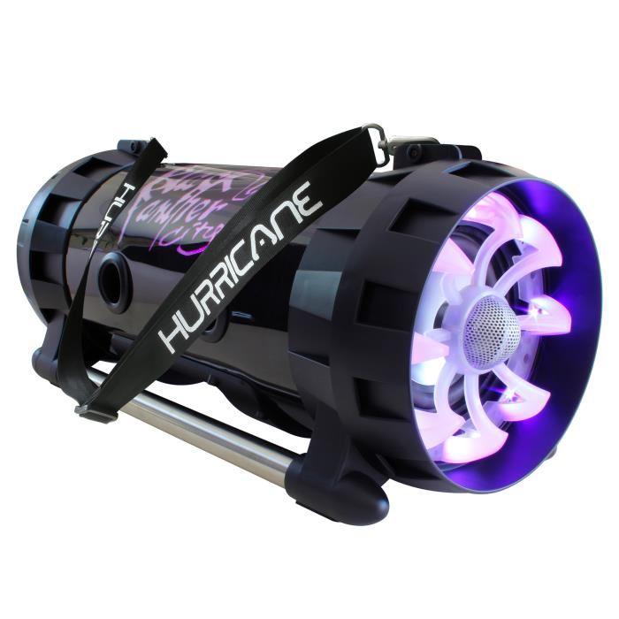 Enceinte Bluetooth Black Panther City Sono Mobile Hurricane Light - 100W RMS / 300W Max