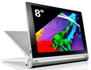 "Tablette 8"" Lenovo Yoga 2-830 Full HD - Gris Metal (via ODR 30€)"