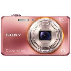 Appareil photo Sony DSCWX100P Cyber-shot 18,2 MP écran LCD 6,7 cm rose - reconditionné