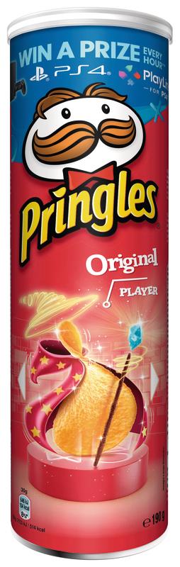 Boite de chips Pringles - Plusieurs variétés (via 0,52€ sur la carte fidélité)