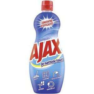2 gels nettoyant ménager Ajax Je Nettoie Tout 750 ml (via bon de réduction)