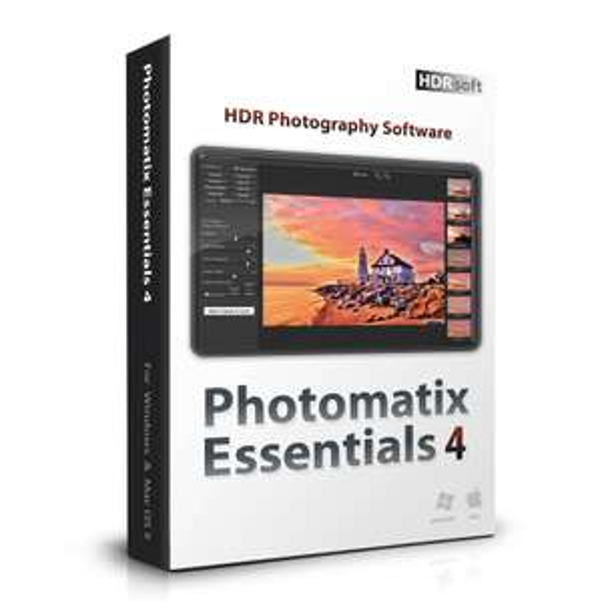 Logiciel Photomatix Essentials 4 gratuit sur MAC et PC