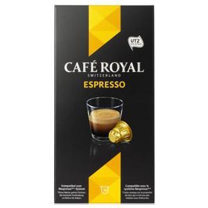 2 paquets de 10 capsules de café royal Expresso (via BDR)