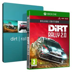 dirt rally 2 0 edition deluxe steelbook sur xbox one ou. Black Bedroom Furniture Sets. Home Design Ideas