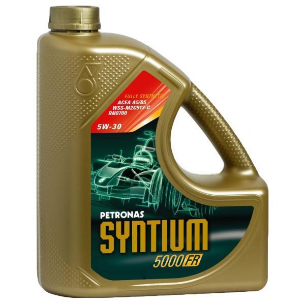 Huile moteur Petronas Syntium 5000 FR 5W30 - 4 litres