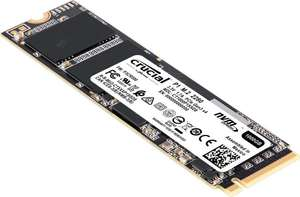SSD Interne M.2. NVMe Crucial P1 - 500 Go
